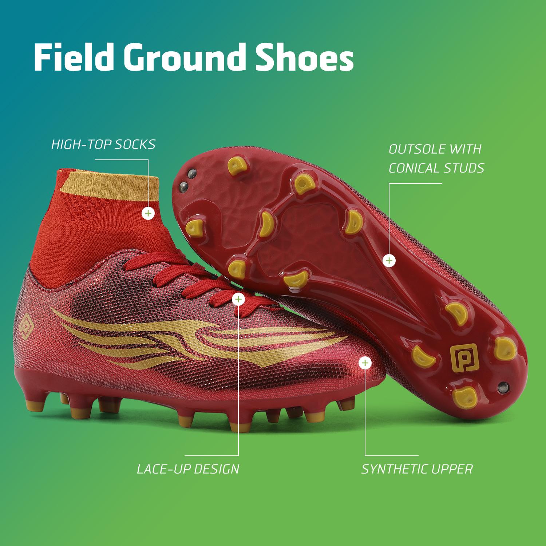 miniature 30 - Dream Paires Garçons Filles Soccer Football Crampons Chaussures (Bébé/Petit enfant/Big Kid)