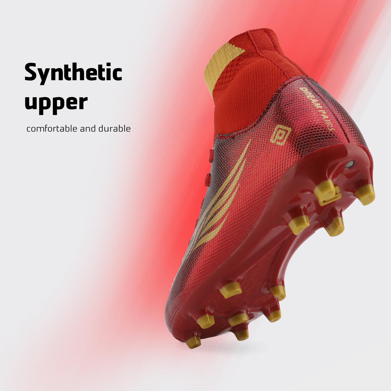 miniature 28 - Dream Paires Garçons Filles Soccer Football Crampons Chaussures (Bébé/Petit enfant/Big Kid)