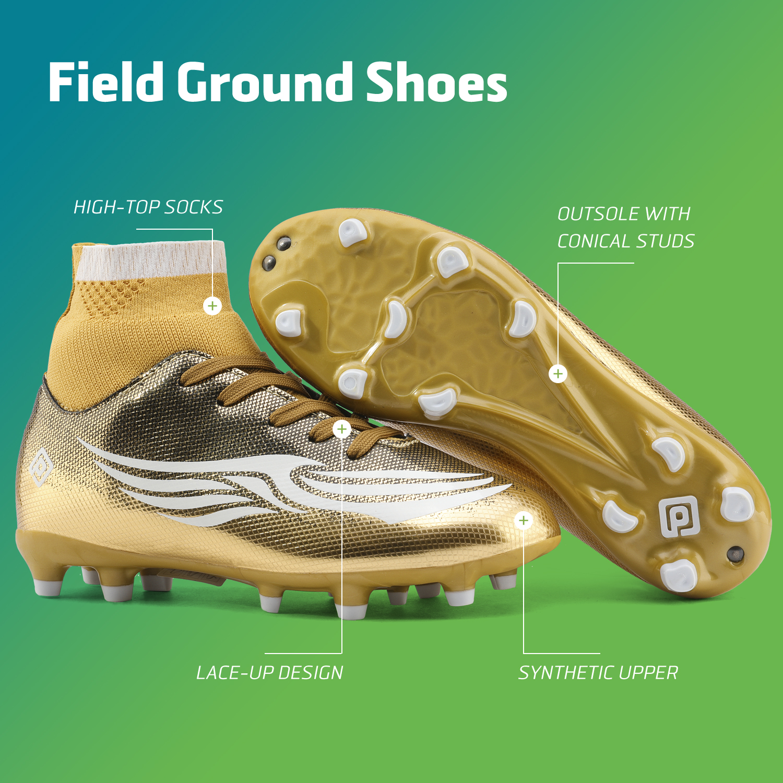 miniature 36 - Dream Paires Garçons Filles Soccer Football Crampons Chaussures (Bébé/Petit enfant/Big Kid)