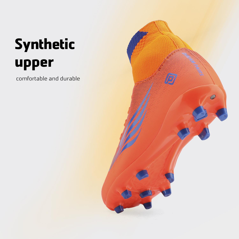 miniature 40 - Dream Paires Garçons Filles Soccer Football Crampons Chaussures (Bébé/Petit enfant/Big Kid)