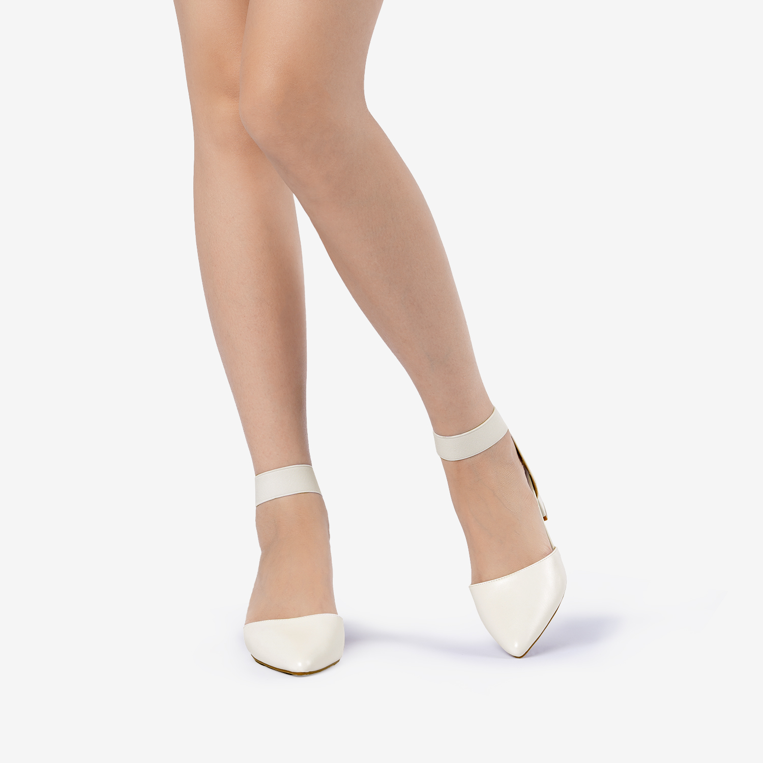 thumbnail 79 - Women-039-s-Elastic-Ankle-Strap-Pointed-Toe-Pump-Shoes-Low-Chunky-Heel-Dress-Pumps
