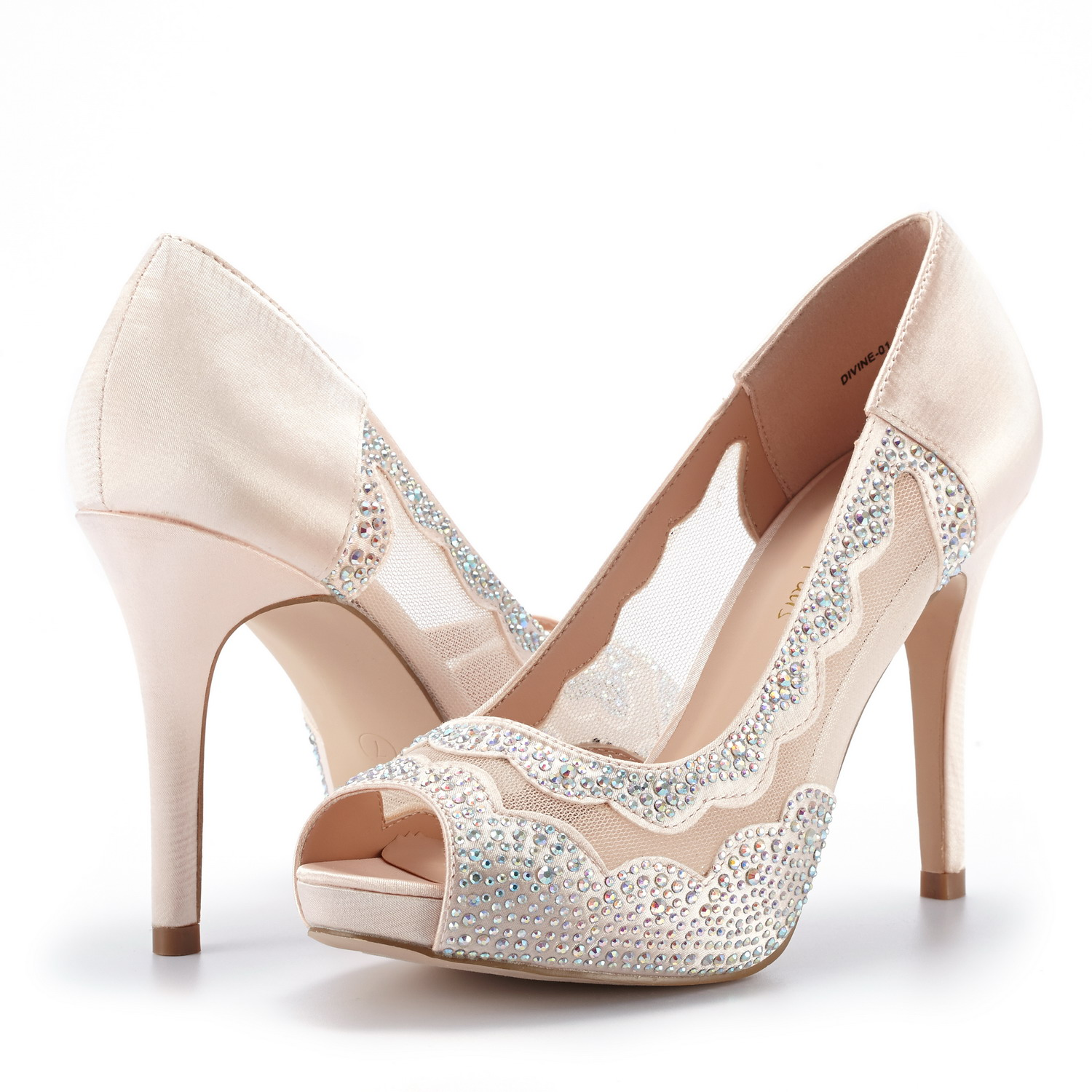DREAM-PAIRS-Women-Divine-01-Peep-Toe-Dress-Wedding-High-Heels-Pump-Shoes-Sandals thumbnail 19