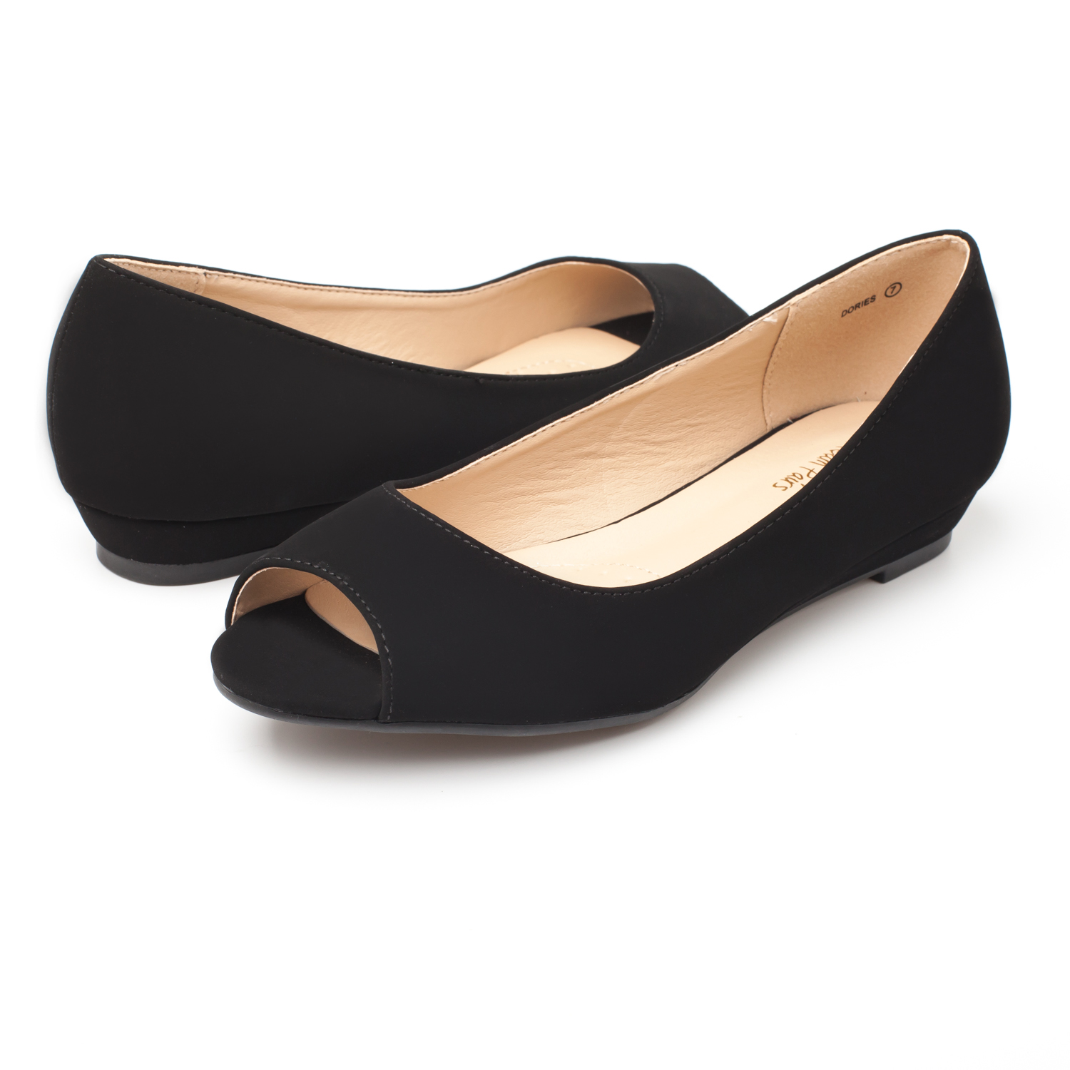 DREAM-PAIRS-Womens-Ballet-Flats-Low-Heel-Open-Toe-Slip-On-Dress-Flat-Shoes thumbnail 51