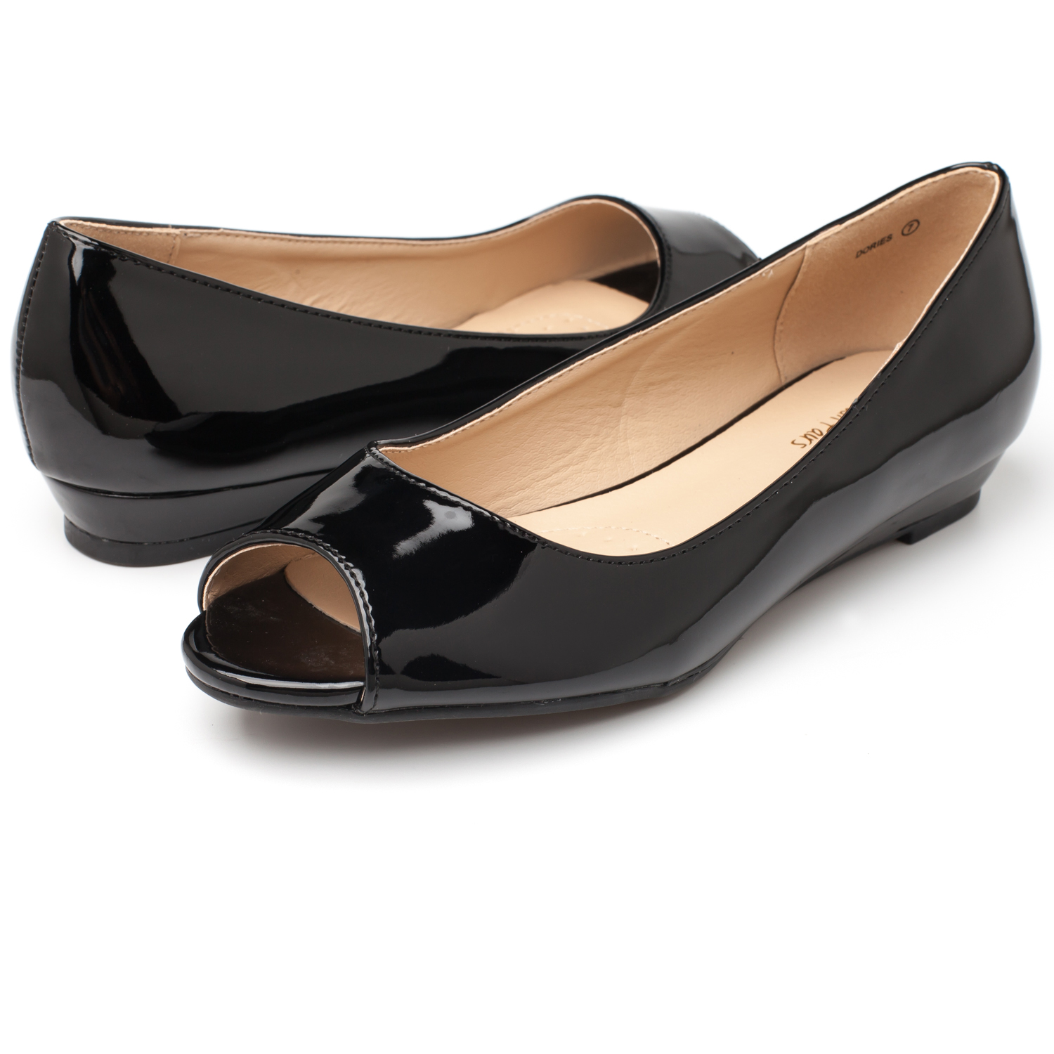 DREAM-PAIRS-Womens-Ballet-Flats-Low-Heel-Open-Toe-Slip-On-Dress-Flat-Shoes thumbnail 35