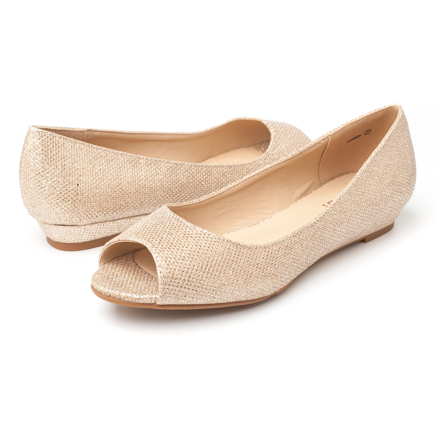 DREAM-PAIRS-Womens-Ballet-Flats-Low-Heel-Open-Toe-Slip-On-Dress-Flat-Shoes thumbnail 19