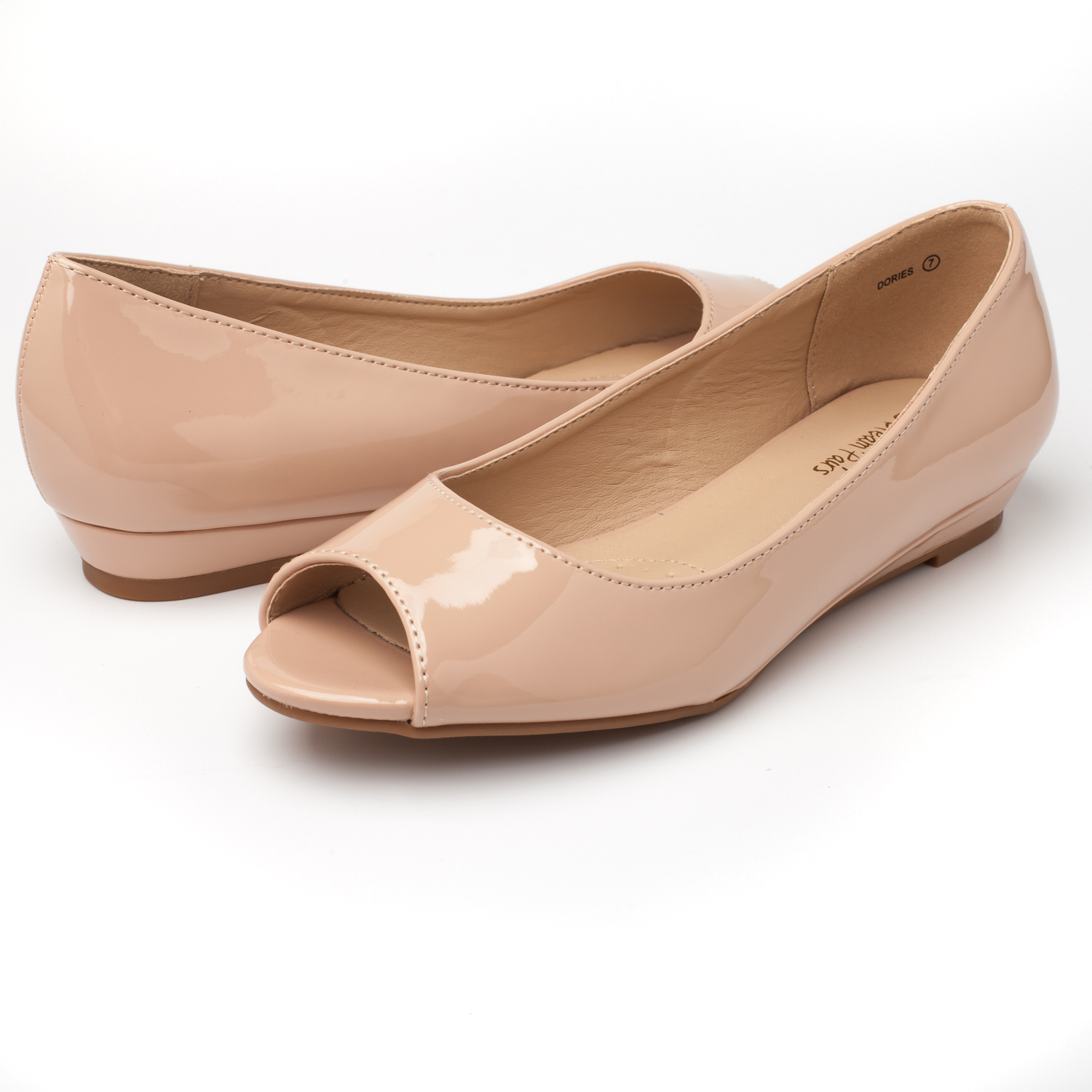 DREAM-PAIRS-Womens-Ballet-Flats-Low-Heel-Open-Toe-Slip-On-Dress-Flat-Shoes thumbnail 31