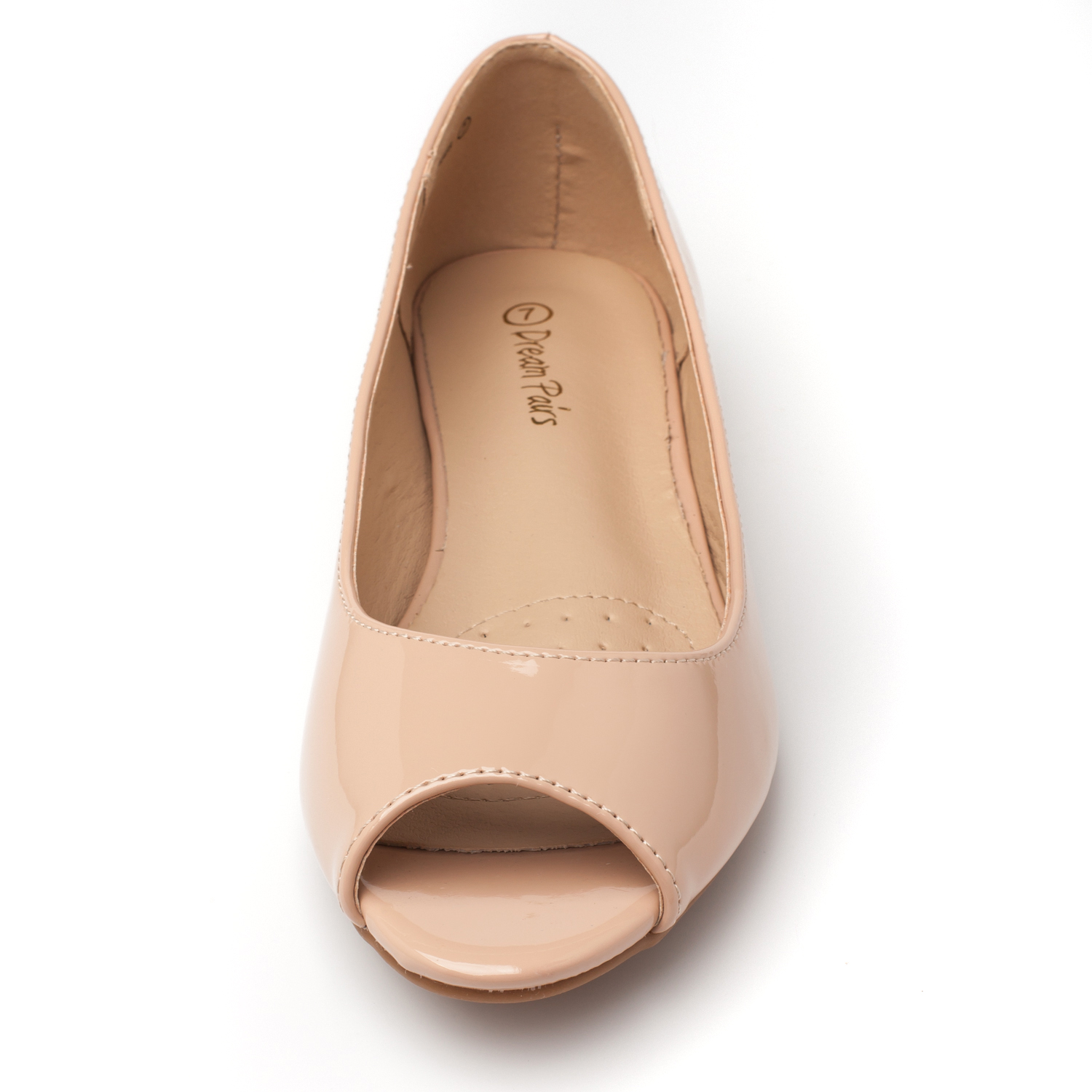 DREAM-PAIRS-Womens-Ballet-Flats-Low-Heel-Open-Toe-Slip-On-Dress-Flat-Shoes thumbnail 33