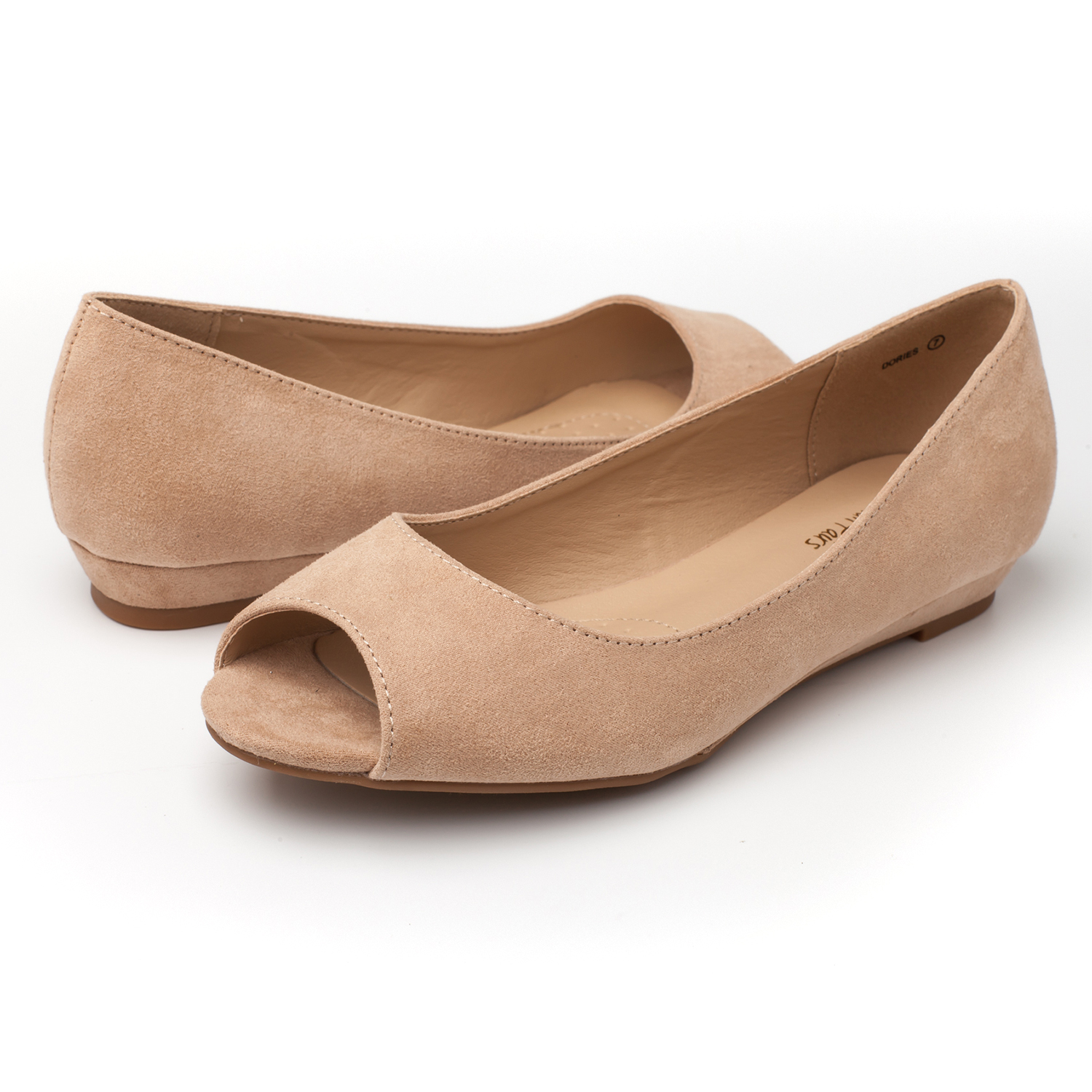 DREAM-PAIRS-Womens-Ballet-Flats-Low-Heel-Open-Toe-Slip-On-Dress-Flat-Shoes thumbnail 39