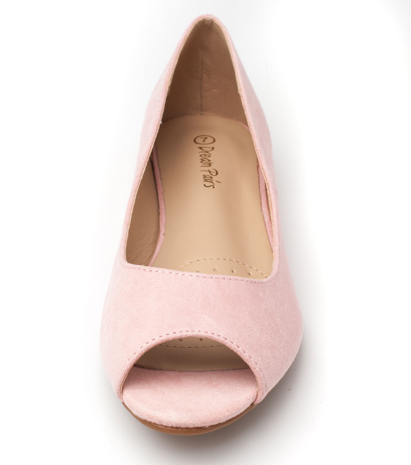 DREAM-PAIRS-Womens-Ballet-Flats-Low-Heel-Open-Toe-Slip-On-Dress-Flat-Shoes thumbnail 9