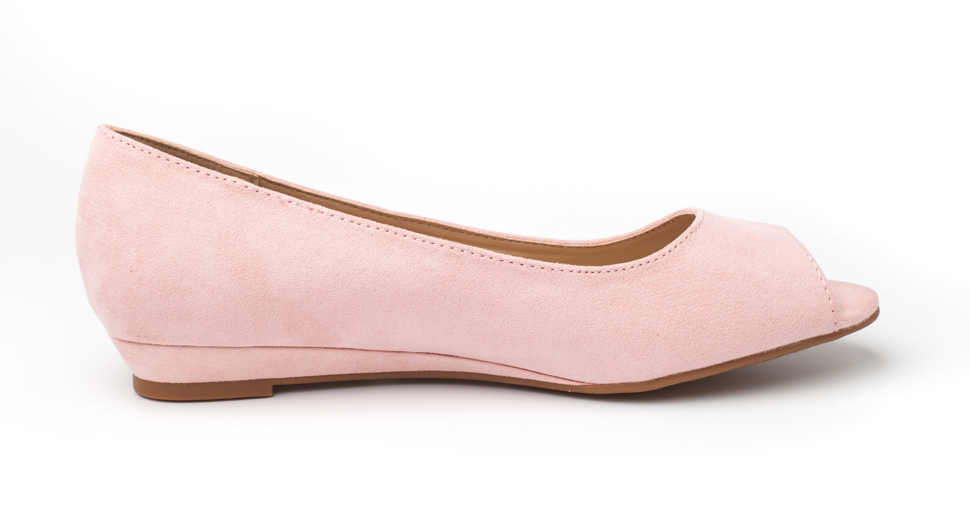 DREAM-PAIRS-Womens-Ballet-Flats-Low-Heel-Open-Toe-Slip-On-Dress-Flat-Shoes thumbnail 8