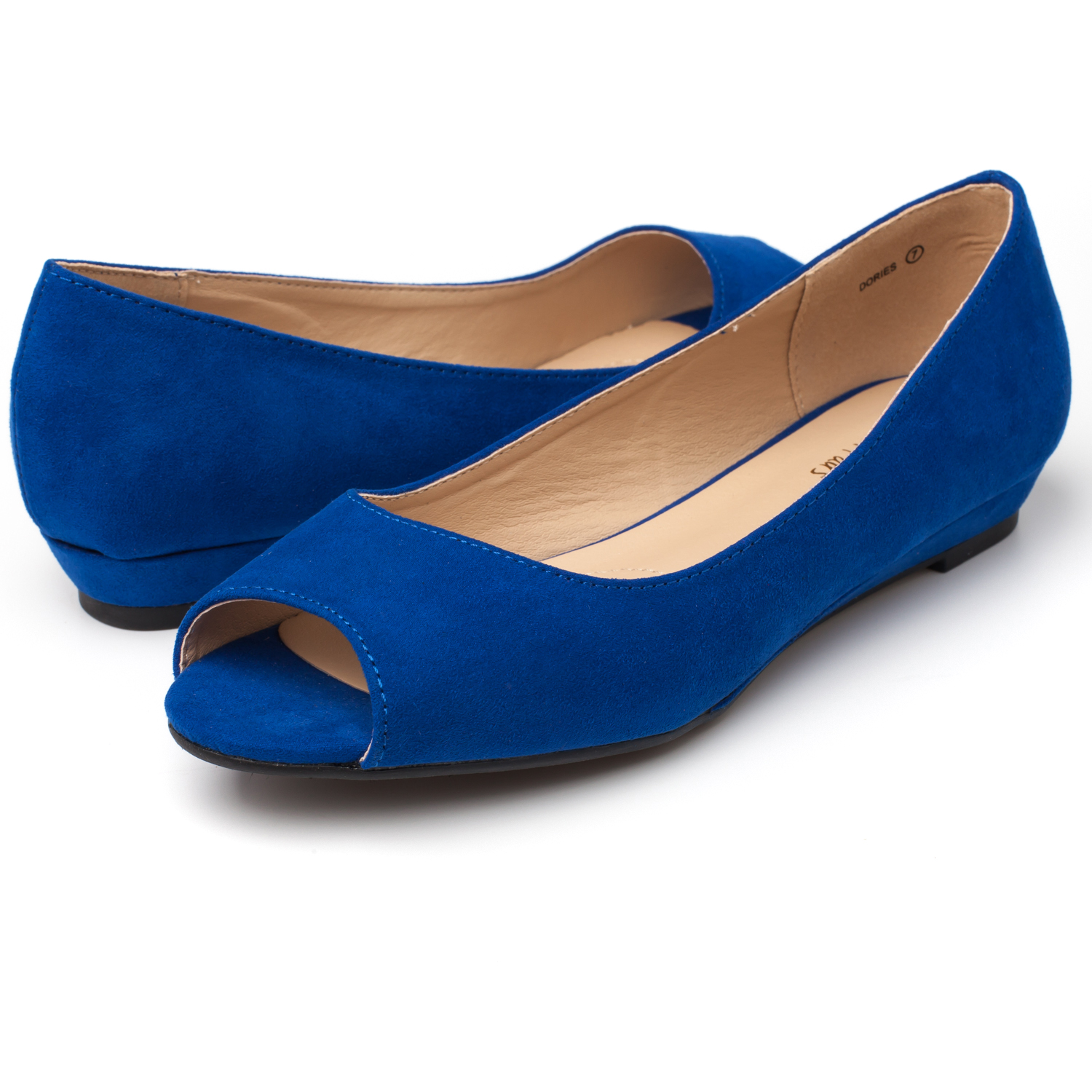 DREAM-PAIRS-Womens-Ballet-Flats-Low-Heel-Open-Toe-Slip-On-Dress-Flat-Shoes thumbnail 11
