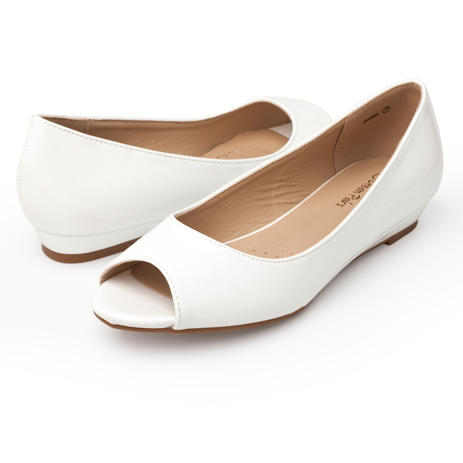 DREAM-PAIRS-Womens-Ballet-Flats-Low-Heel-Open-Toe-Slip-On-Dress-Flat-Shoes thumbnail 23