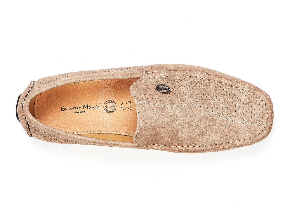 Bruno-Marc-Men-Driving-Loafers-Dress-Shoes-Casual-Slip-On-Flat-Moccasins-6-5-15 thumbnail 11