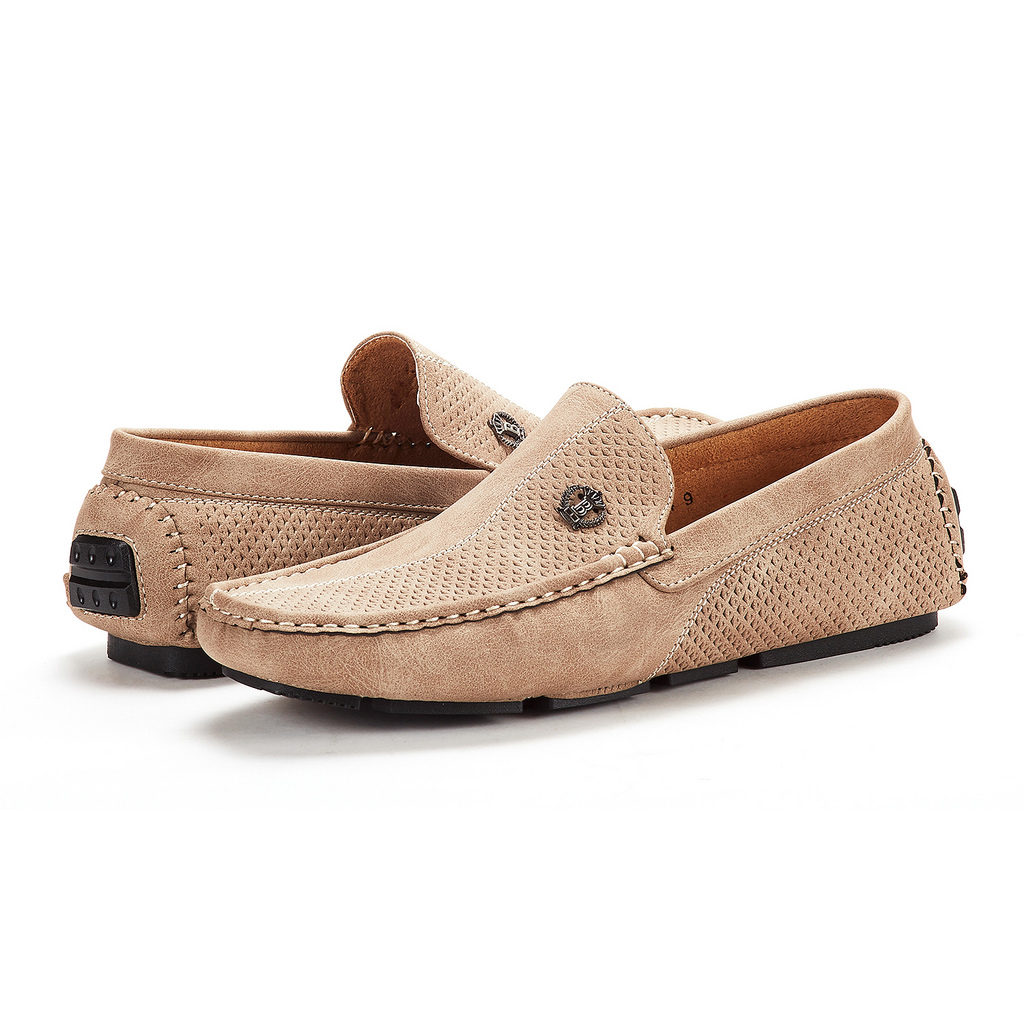 Bruno-Marc-Men-Driving-Loafers-Dress-Shoes-Casual-Slip-On-Flat-Moccasins-6-5-15 thumbnail 9