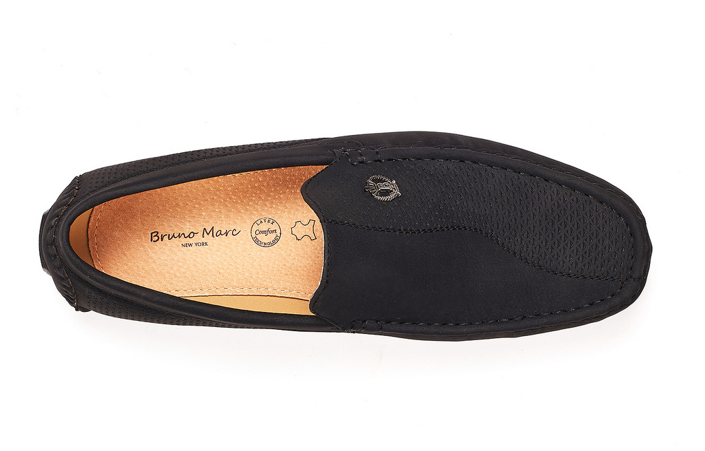 Bruno-Marc-Men-Driving-Loafers-Dress-Shoes-Casual-Slip-On-Flat-Moccasins-6-5-15 thumbnail 15