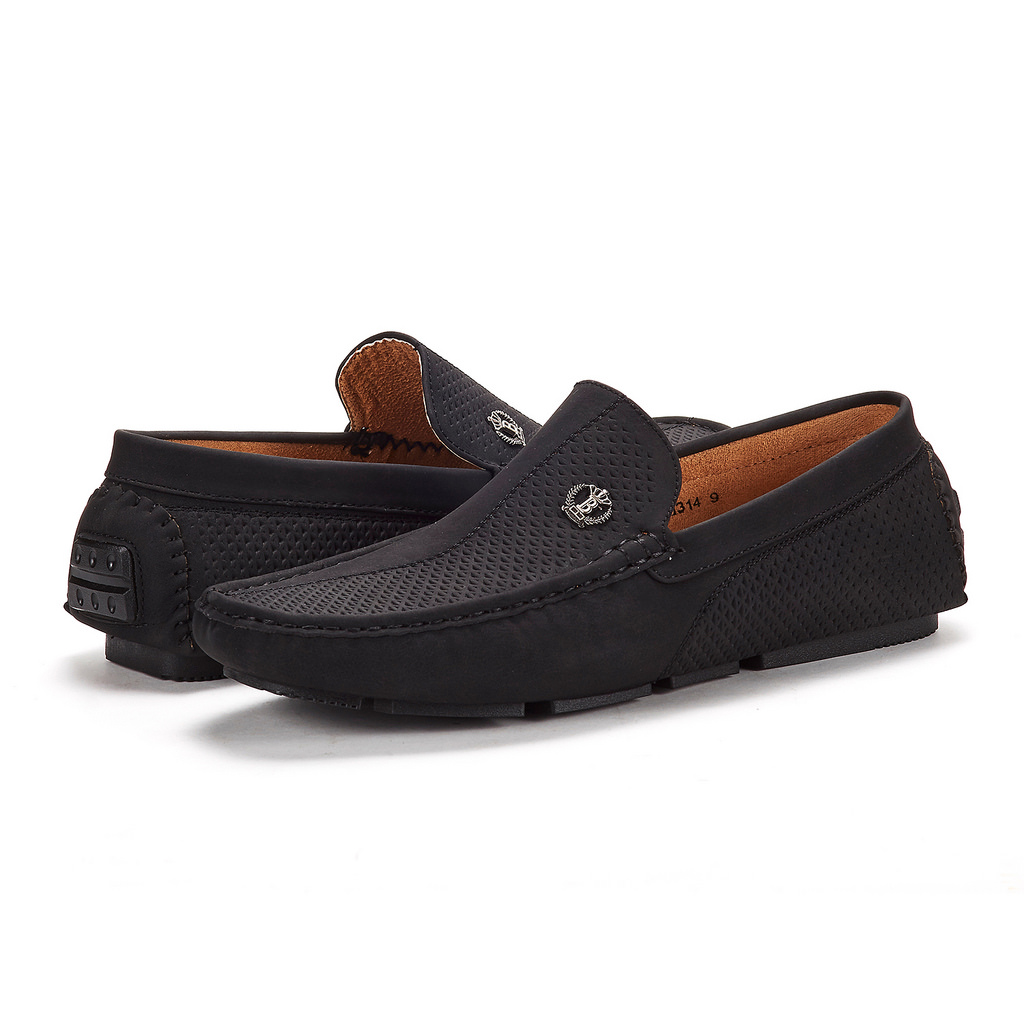 Bruno-Marc-Men-Driving-Loafers-Dress-Shoes-Casual-Slip-On-Flat-Moccasins-6-5-15 thumbnail 13