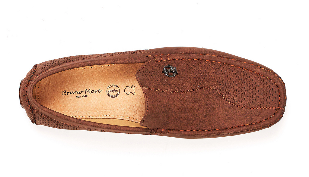 Bruno-Marc-Men-Driving-Loafers-Dress-Shoes-Casual-Slip-On-Flat-Moccasins-6-5-15 thumbnail 19