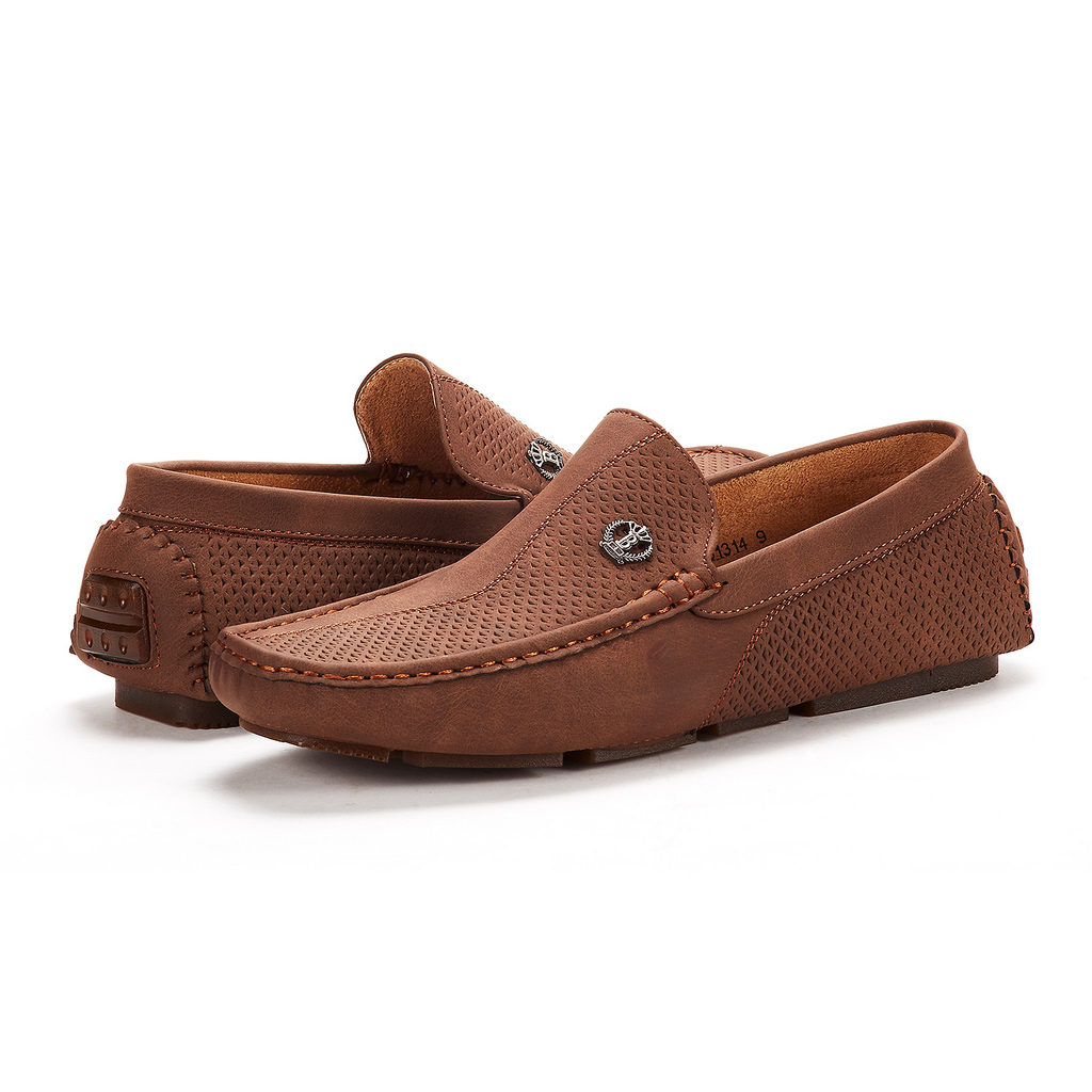 Bruno-Marc-Men-Driving-Loafers-Dress-Shoes-Casual-Slip-On-Flat-Moccasins-6-5-15 thumbnail 17