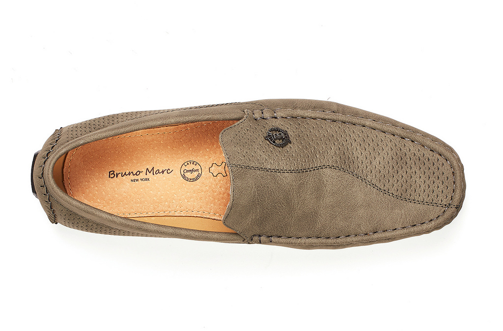 Bruno-Marc-Men-Driving-Loafers-Dress-Shoes-Casual-Slip-On-Flat-Moccasins-6-5-15 thumbnail 27