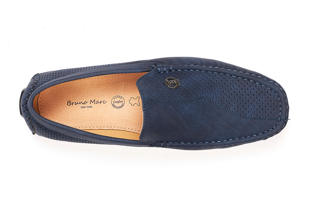 Bruno-Marc-Men-Driving-Loafers-Dress-Shoes-Casual-Slip-On-Flat-Moccasins-6-5-15 thumbnail 23