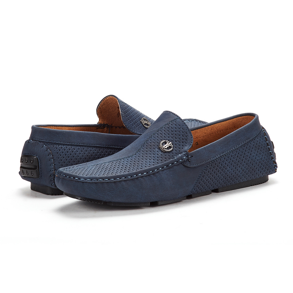 Bruno-Marc-Men-Driving-Loafers-Dress-Shoes-Casual-Slip-On-Flat-Moccasins-6-5-15 thumbnail 21