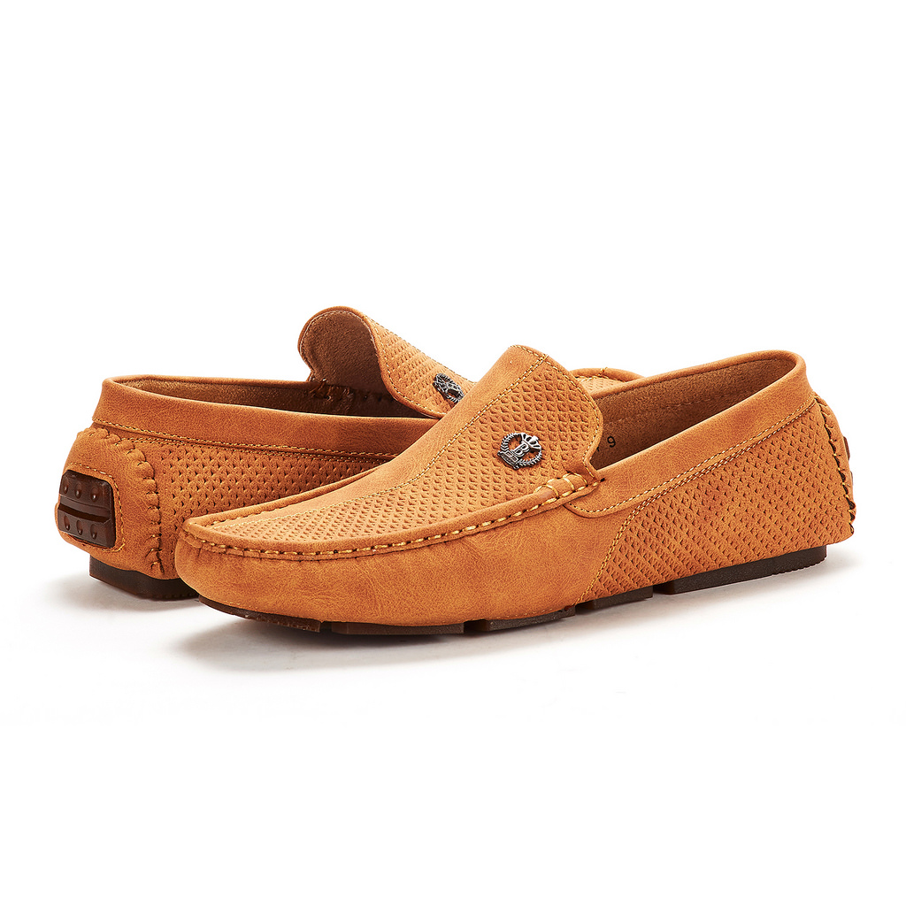 Bruno-Marc-Men-Driving-Loafers-Dress-Shoes-Casual-Slip-On-Flat-Moccasins-6-5-15 thumbnail 29