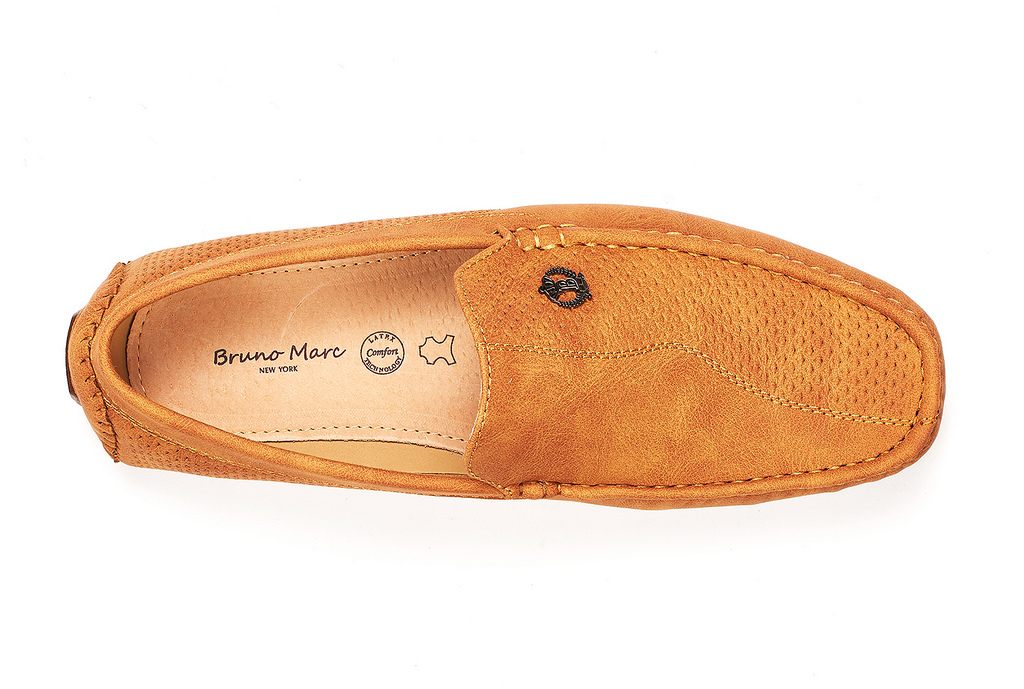Bruno-Marc-Men-Driving-Loafers-Dress-Shoes-Casual-Slip-On-Flat-Moccasins-6-5-15 thumbnail 31