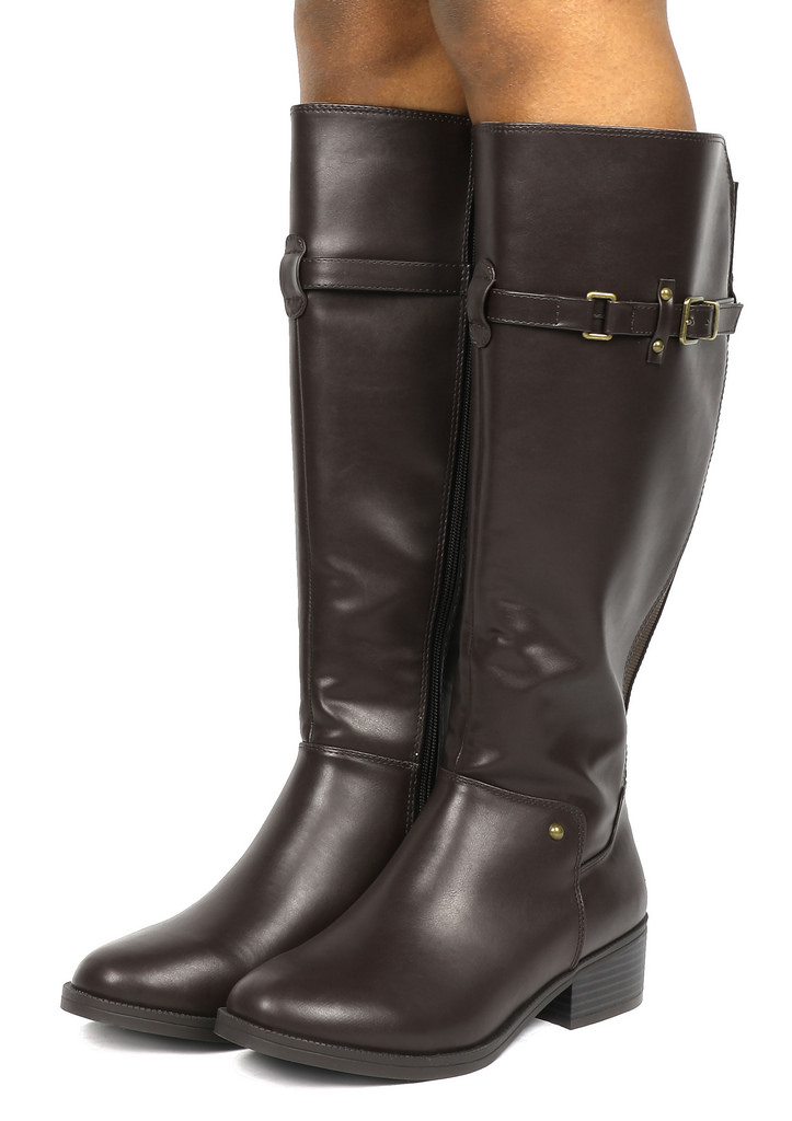 Toetos Women S Fashion Side Zipper Knee High Riding Boots