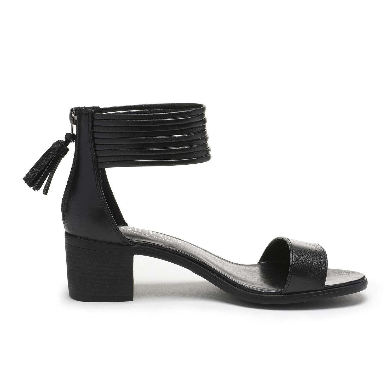 TOETOS-Women-IVY-Summer-Open-Toe-Ankle-Strap-Zipper-Low-Wedge-Block-Heel-Sandals thumbnail 78