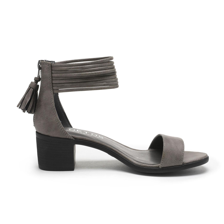 TOETOS-Women-IVY-Summer-Open-Toe-Ankle-Strap-Zipper-Low-Wedge-Block-Heel-Sandals thumbnail 36