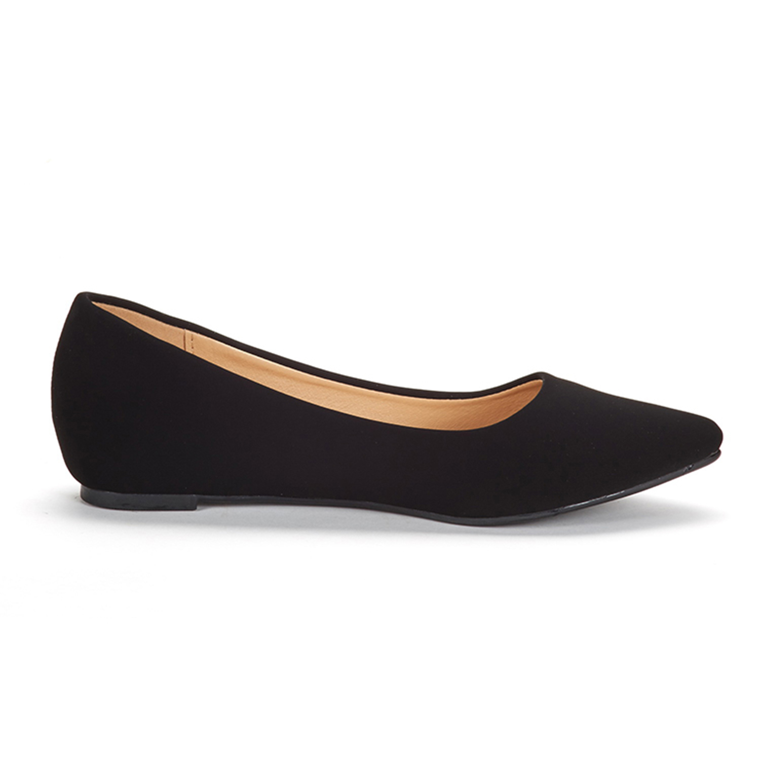 DREAM-PAIRS-Women-Low-Wedge-Flats-Ladies-Pointed-Toe-Slip-On-Comfort-Flat-Shoes thumbnail 96