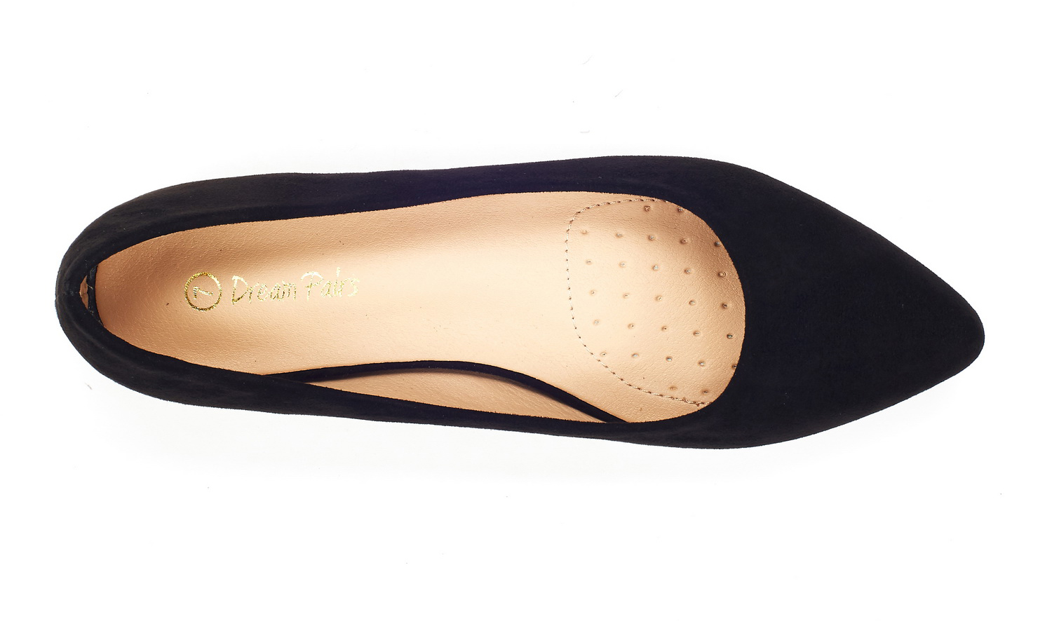 DREAM-PAIRS-Women-Low-Wedge-Flats-Ladies-Pointed-Toe-Slip-On-Comfort-Flat-Shoes thumbnail 61