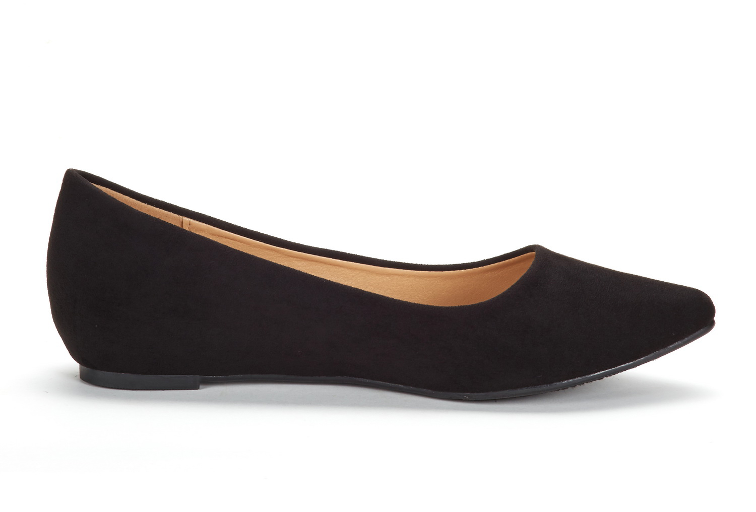 DREAM-PAIRS-Women-Low-Wedge-Flats-Ladies-Pointed-Toe-Slip-On-Comfort-Flat-Shoes thumbnail 64