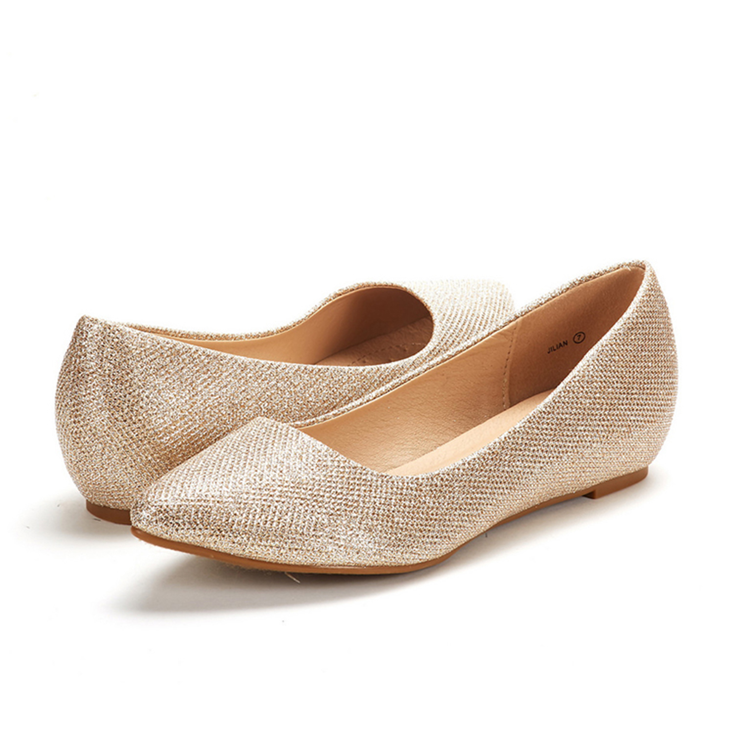 DREAM-PAIRS-Women-Low-Wedge-Flats-Ladies-Pointed-Toe-Slip-On-Comfort-Flat-Shoes thumbnail 31