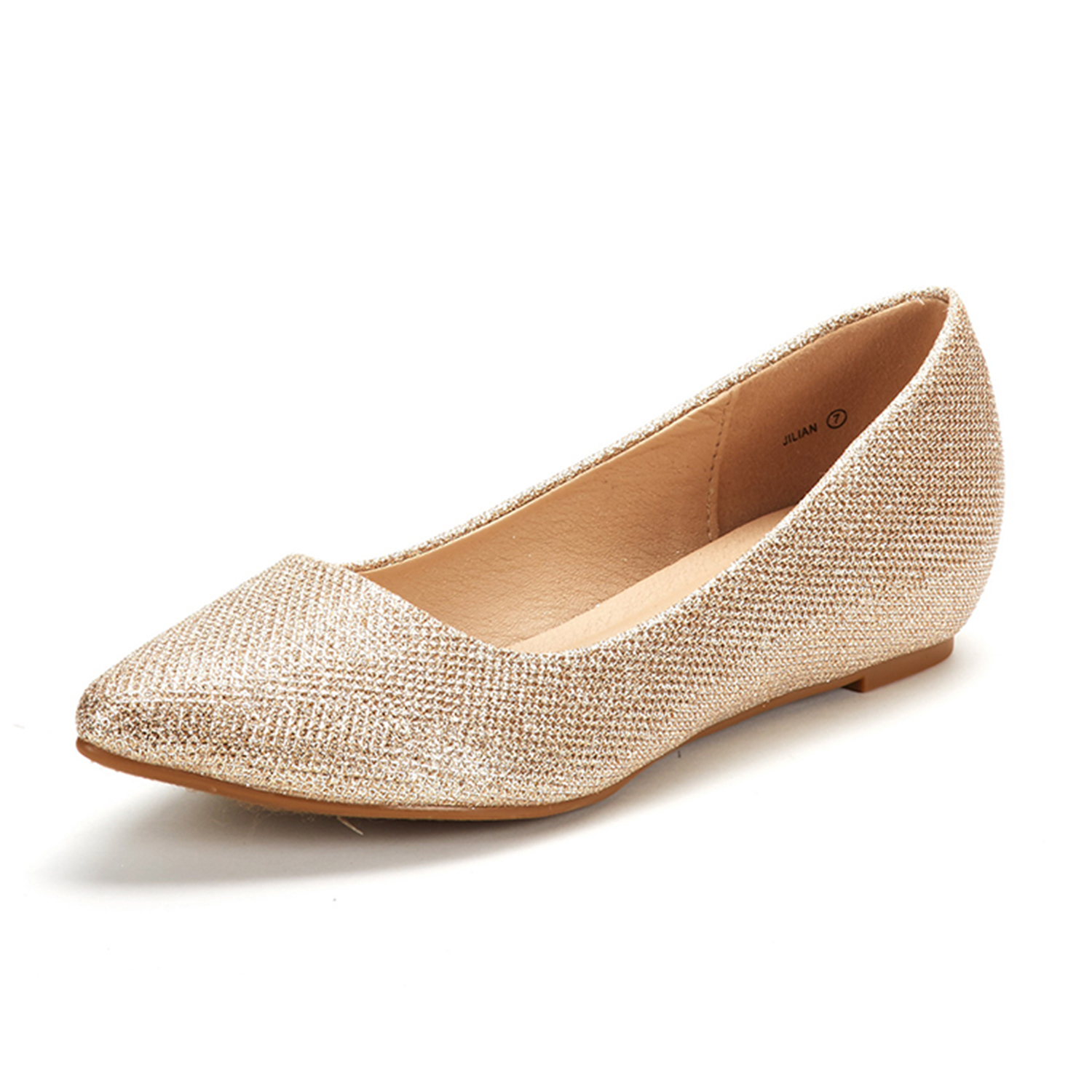 DREAM-PAIRS-Women-Low-Wedge-Flats-Ladies-Pointed-Toe-Slip-On-Comfort-Flat-Shoes thumbnail 30