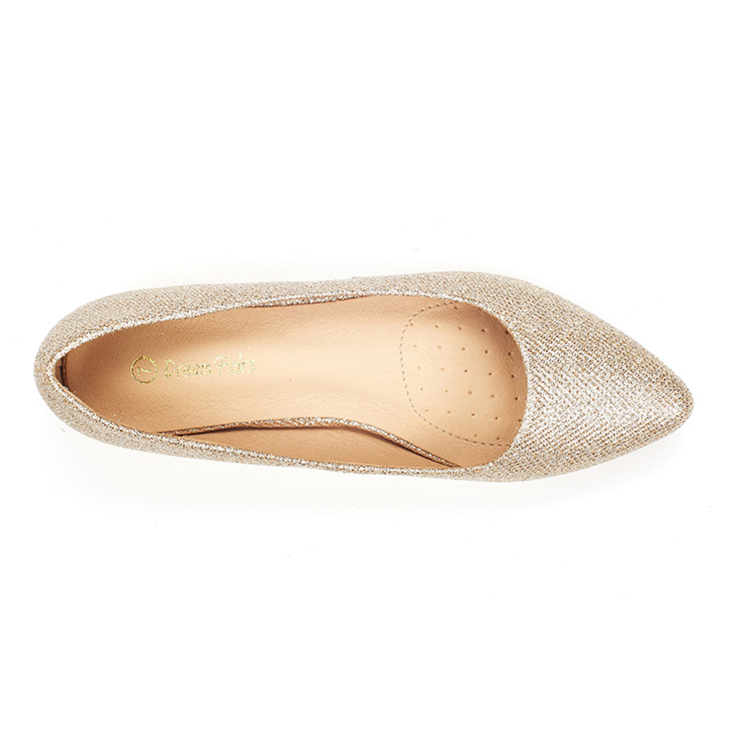 DREAM-PAIRS-Women-Low-Wedge-Flats-Ladies-Pointed-Toe-Slip-On-Comfort-Flat-Shoes thumbnail 33