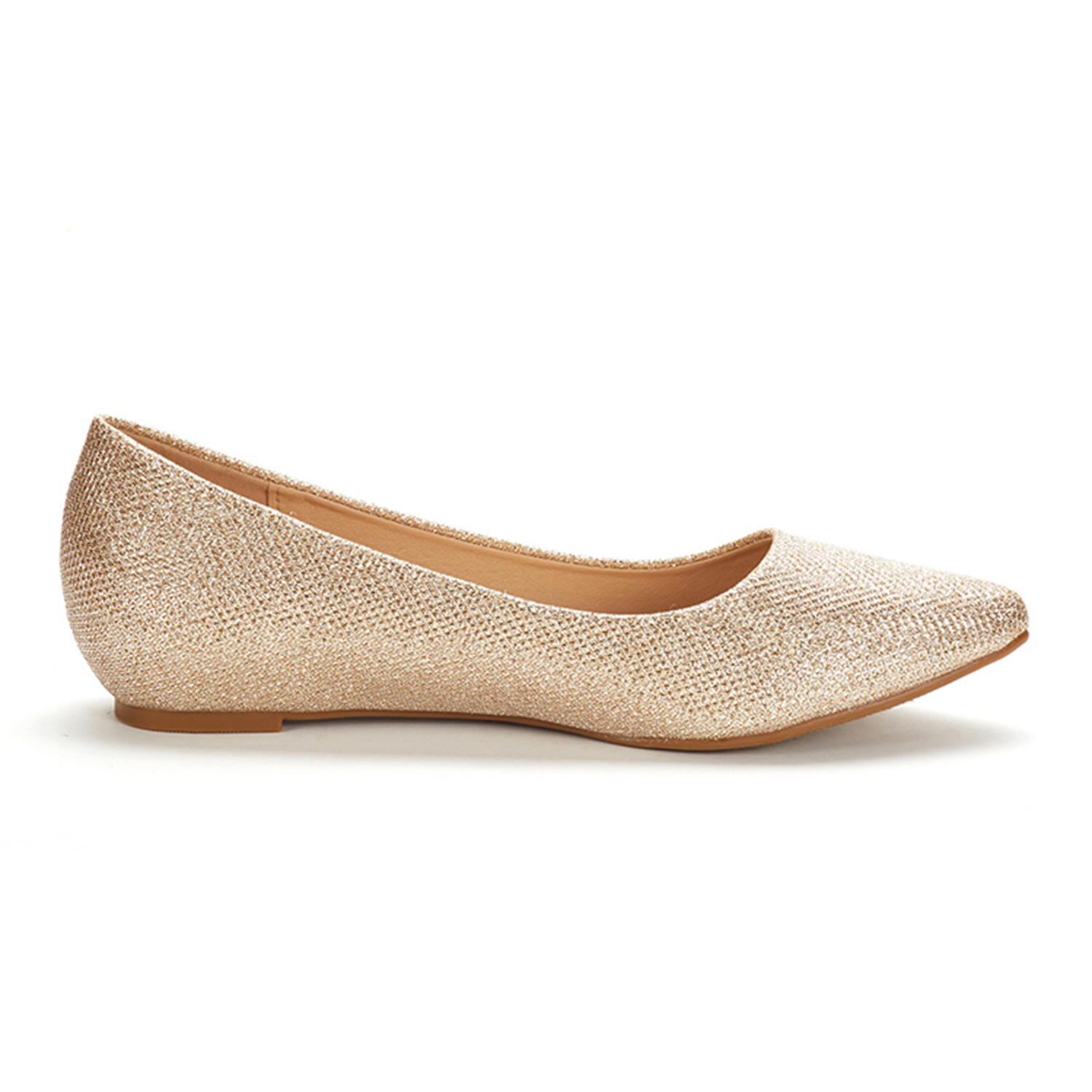 DREAM-PAIRS-Women-Low-Wedge-Flats-Ladies-Pointed-Toe-Slip-On-Comfort-Flat-Shoes thumbnail 32
