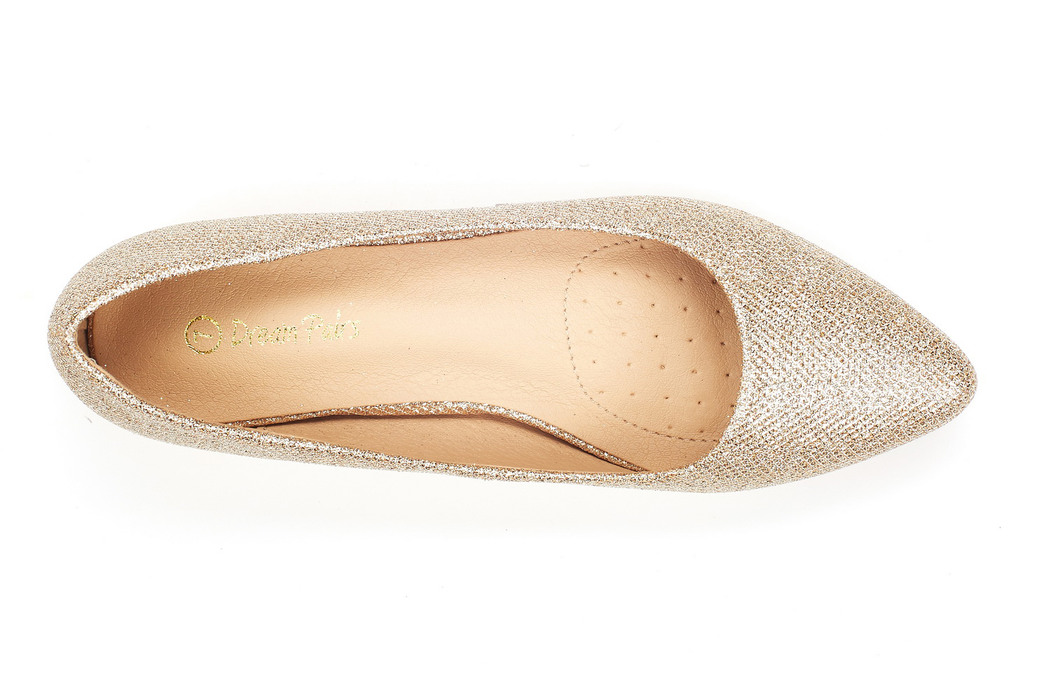 DREAM-PAIRS-Women-Low-Wedge-Flats-Ladies-Pointed-Toe-Slip-On-Comfort-Flat-Shoes thumbnail 29