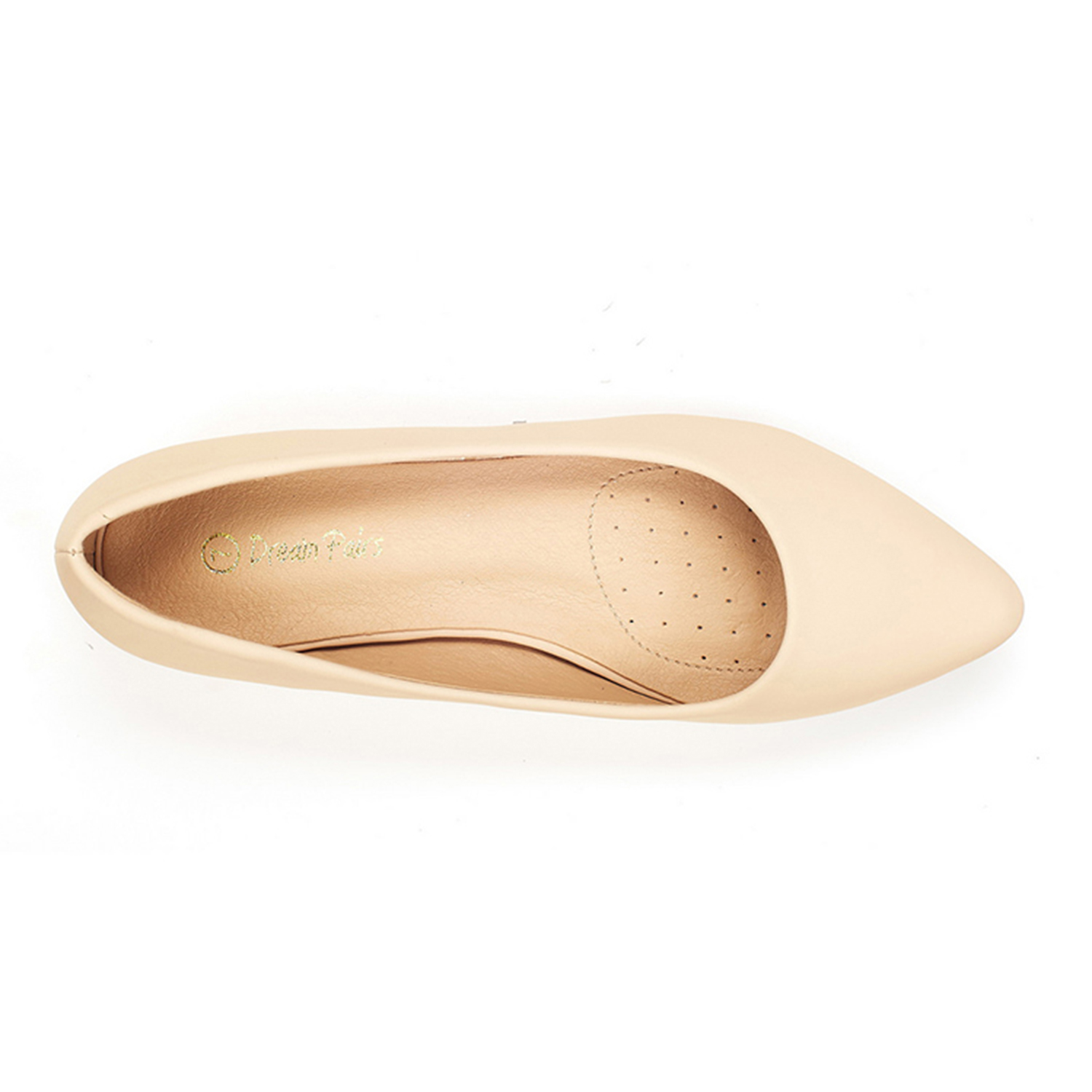 DREAM-PAIRS-Women-Low-Wedge-Flats-Ladies-Pointed-Toe-Slip-On-Comfort-Flat-Shoes thumbnail 69