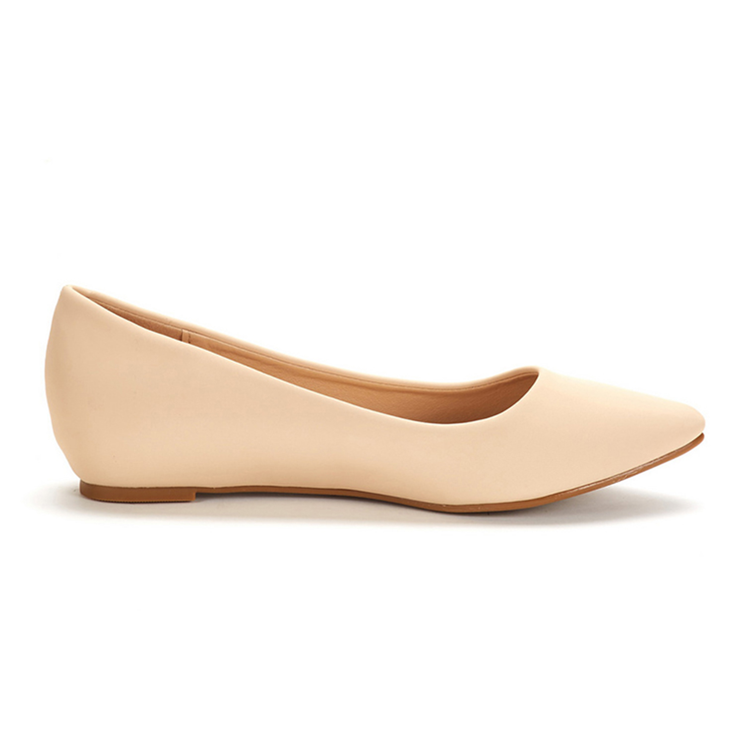 DREAM-PAIRS-Women-Low-Wedge-Flats-Ladies-Pointed-Toe-Slip-On-Comfort-Flat-Shoes thumbnail 68