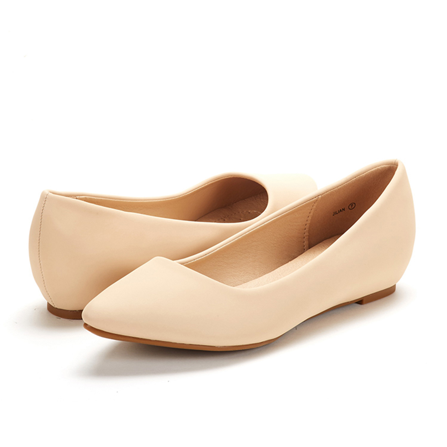 DREAM-PAIRS-Women-Low-Wedge-Flats-Ladies-Pointed-Toe-Slip-On-Comfort-Flat-Shoes thumbnail 67
