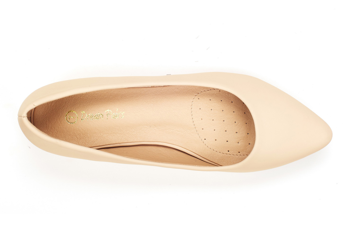 DREAM-PAIRS-Women-Low-Wedge-Flats-Ladies-Pointed-Toe-Slip-On-Comfort-Flat-Shoes thumbnail 73