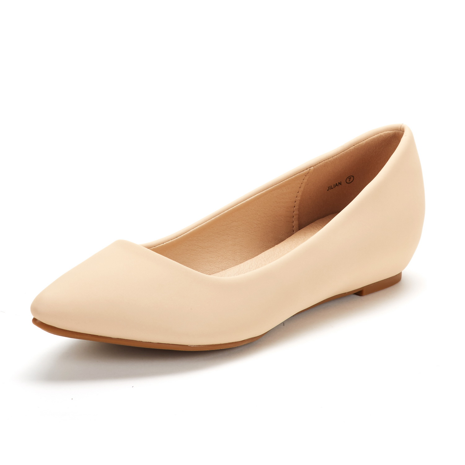 DREAM-PAIRS-Women-Low-Wedge-Flats-Ladies-Pointed-Toe-Slip-On-Comfort-Flat-Shoes thumbnail 70