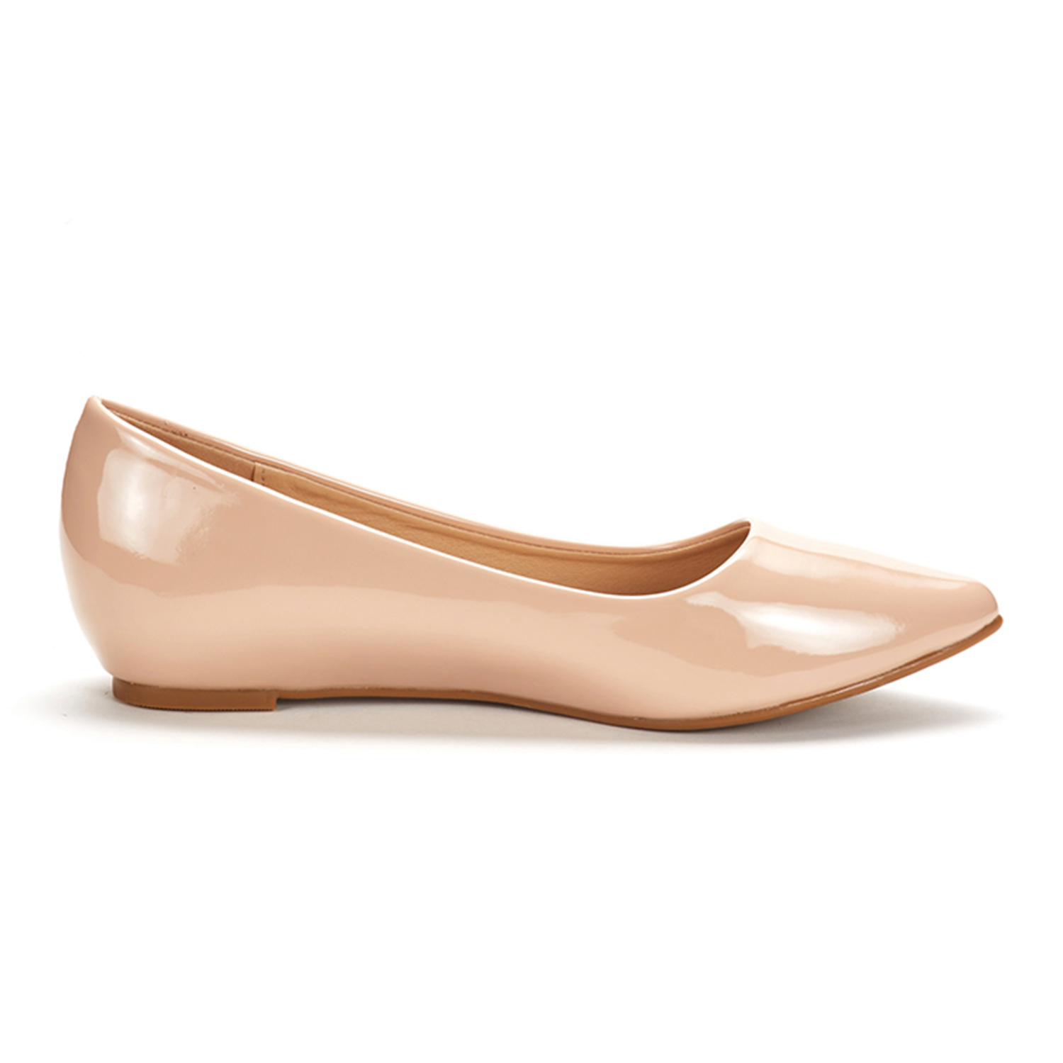 DREAM-PAIRS-Women-Low-Wedge-Flats-Ladies-Pointed-Toe-Slip-On-Comfort-Flat-Shoes thumbnail 92