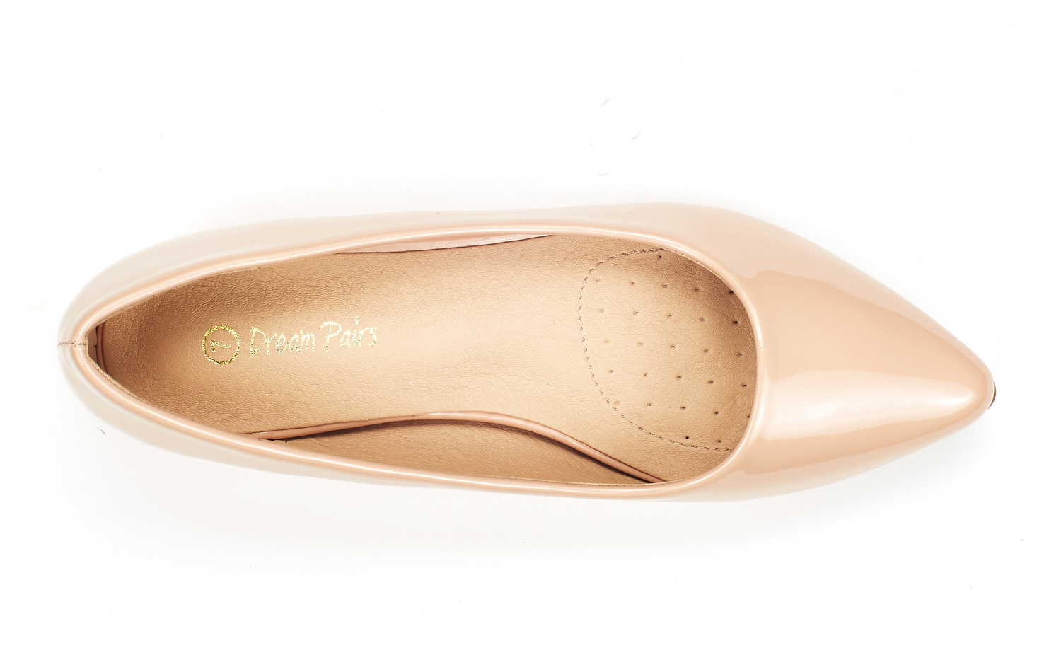 DREAM-PAIRS-Women-Low-Wedge-Flats-Ladies-Pointed-Toe-Slip-On-Comfort-Flat-Shoes thumbnail 89