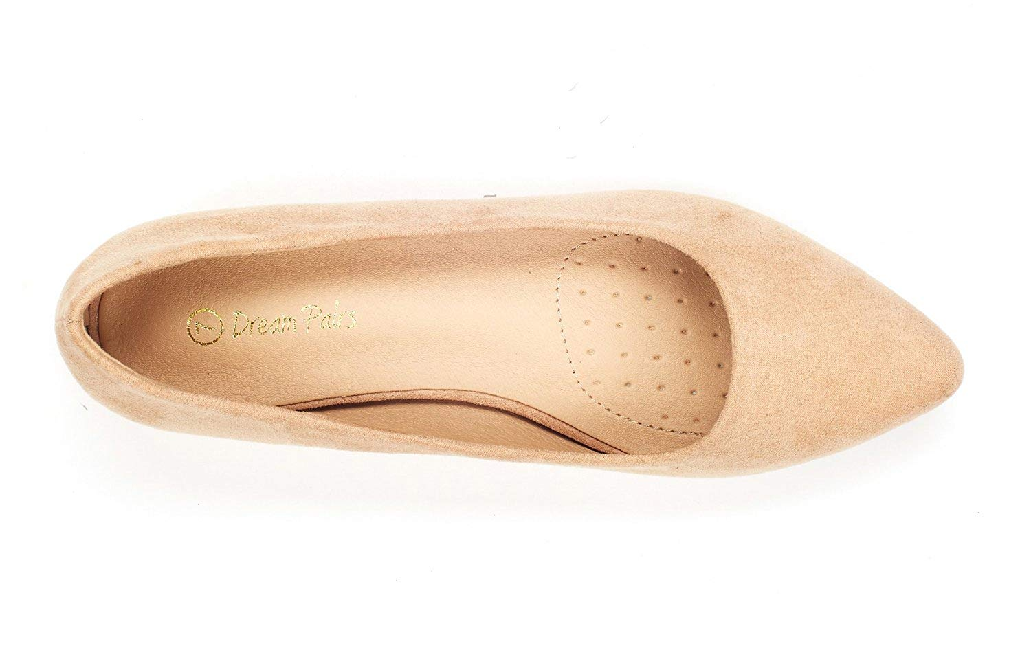 DREAM-PAIRS-Women-Low-Wedge-Flats-Ladies-Pointed-Toe-Slip-On-Comfort-Flat-Shoes thumbnail 53
