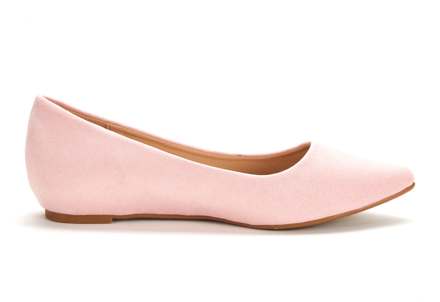 DREAM-PAIRS-Women-Low-Wedge-Flats-Ladies-Pointed-Toe-Slip-On-Comfort-Flat-Shoes thumbnail 80