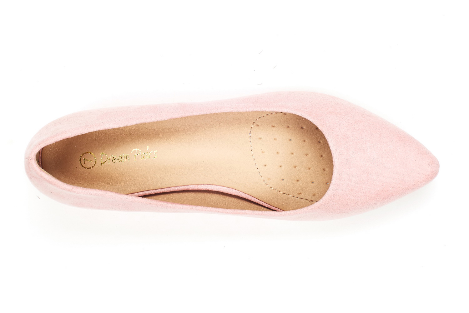 DREAM-PAIRS-Women-Low-Wedge-Flats-Ladies-Pointed-Toe-Slip-On-Comfort-Flat-Shoes thumbnail 81