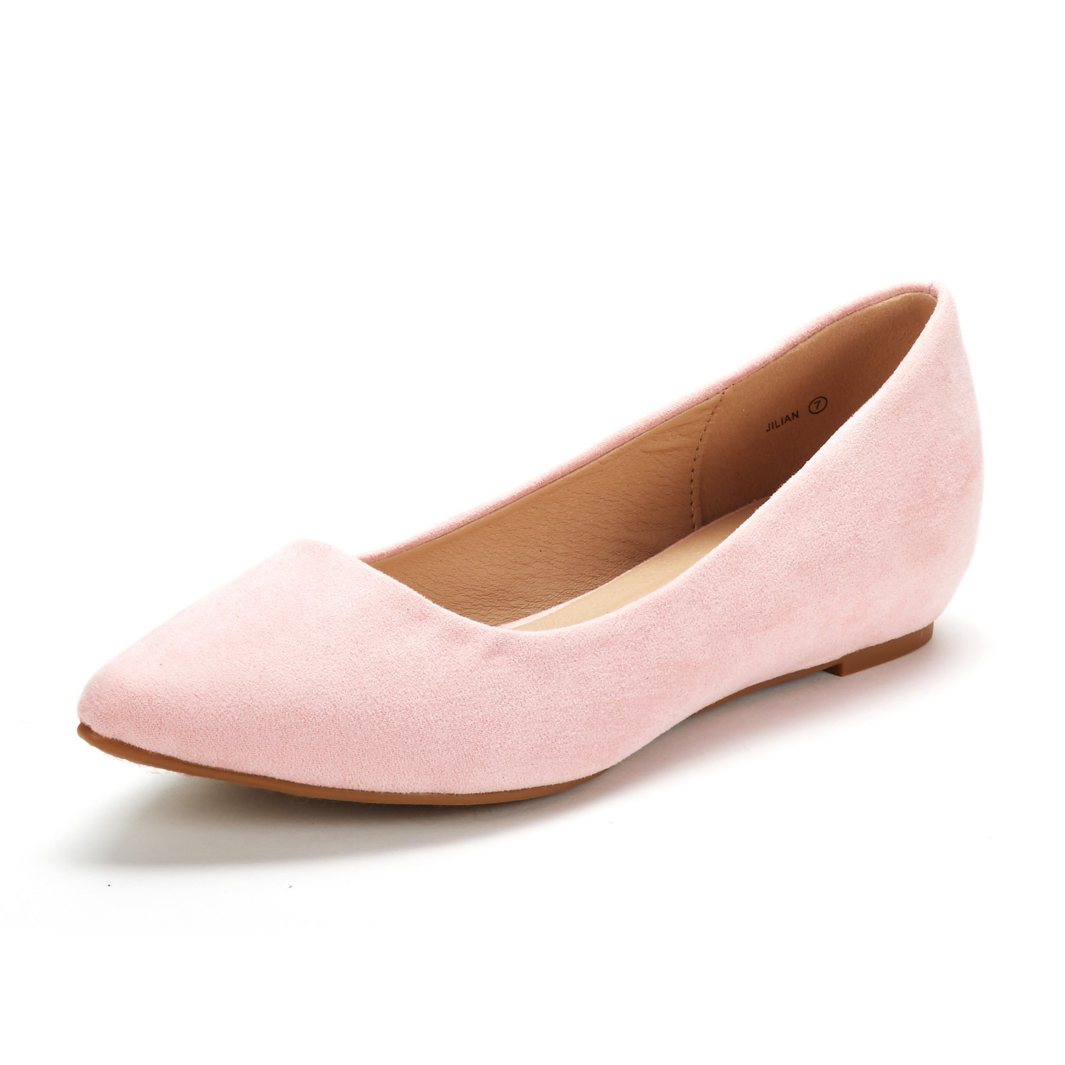 DREAM-PAIRS-Women-Low-Wedge-Flats-Ladies-Pointed-Toe-Slip-On-Comfort-Flat-Shoes thumbnail 78