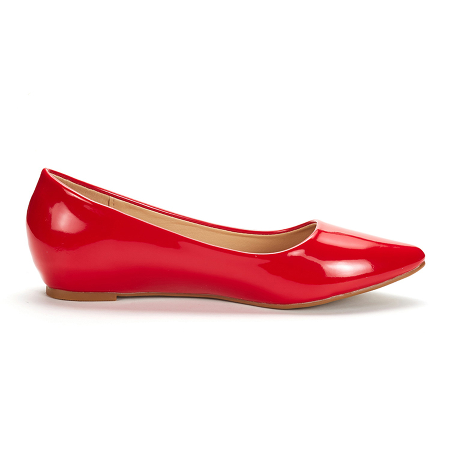 DREAM-PAIRS-Women-Low-Wedge-Flats-Ladies-Pointed-Toe-Slip-On-Comfort-Flat-Shoes thumbnail 36
